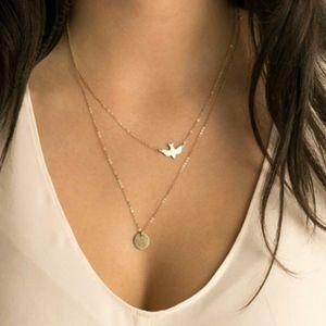 Delicate Bird Necklace